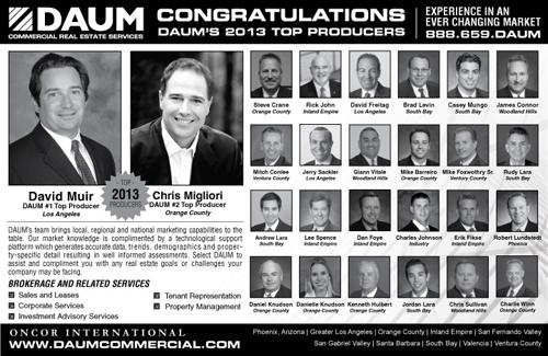 DAUM CONGRATULATES ITS 2013 PRESIDENTS CLUB QUALIFIERS