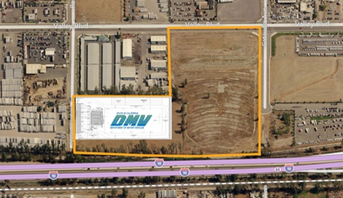 DAUM REPRESENTS DW DEVELOPMENT IN A $24 MILLION LEASE BUILD-TO-SUIT WITH THE STATE OF CALIFORNIA IN FONTANA, CA