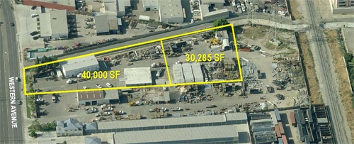 DAUM REPRESENTS LANDLORD IN THE LEASING OF 70,285 SQ. FT. CONTRACTOR'S YARD IN STANTON, CA